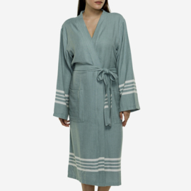 Hammam Bathrobe His/Her Sage