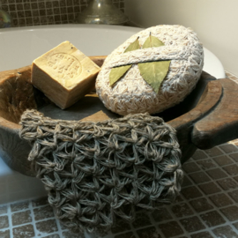 Handgemaakte hamam spons