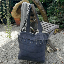 Beach bag Stone black