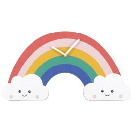 Wandklok - Rainbow