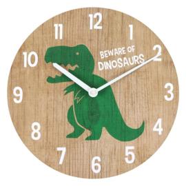 Wandklok - Dinosaur