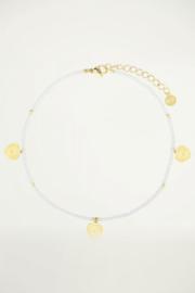 My Jewellery enkelbandje wit hartjes
