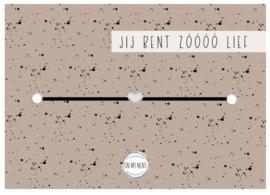 On My Mint - kaart + armband zooo lief