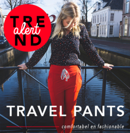 TREND ALERT: De travel pants!