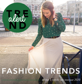 TREND ALERT: Fashion trends voorjaar 2020!