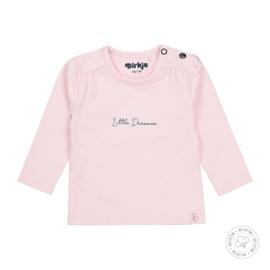 Dirkje meisjes shirt roze basis