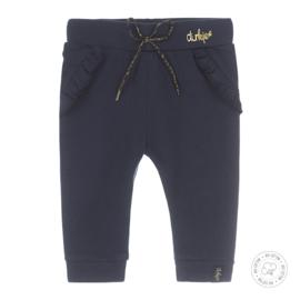 Dirkje meisjes broek donkerblauw basis