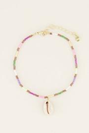 My Jewellery enkelbandje multikleur kraaltjes