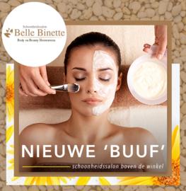 NIEUWE 'BOVEN BUUF': Schoonheidssalon Belle Binette!