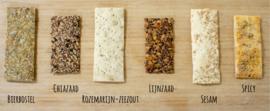 Ambachtelijke crackers in cadeaublikje