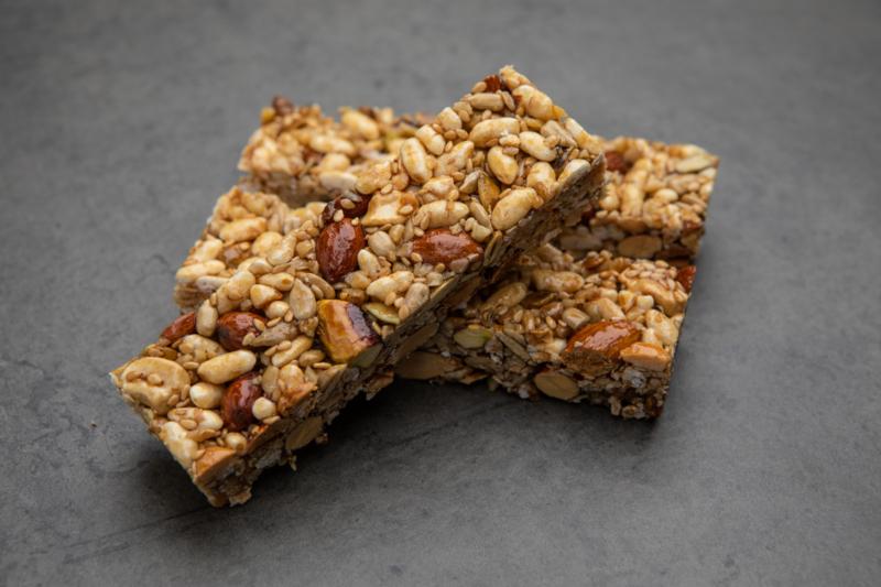 Candybars noten & zaden (per 8 stuks)