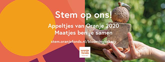 Stem op Blooming Bakery voor de Appeltjes van Oranje 2020!