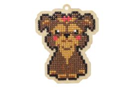Wizardi Charm Dog Lady WW134