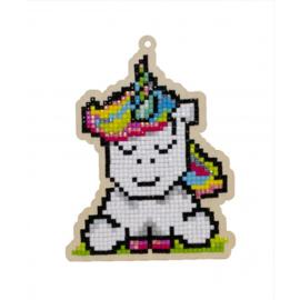 Wizardi Charm Rainbow Unicorn WW293
