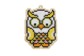 Wizardi charm Tropical Owl WW277
