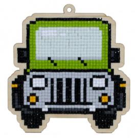 Wizardi charm Jeep WW274