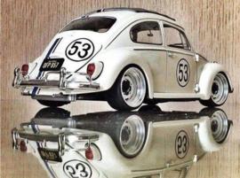 diamond painting Herbie 40 x 50 ronde steentjes