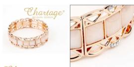 SOLDEN CHARTAGE armband W1446