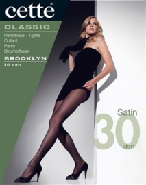 CETTE - BROOKLYN panty 30 den zwart - black