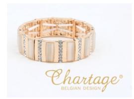 SOLDEN CHARTAGE armband W1496