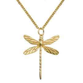 BY LAUREN ketting dragonfly gold