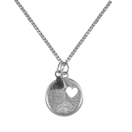 BY LAUREN love tot love ketting silver