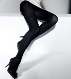 CETTE DUBLIN SIZE PLUS - dichte panty 60 den zwart -black