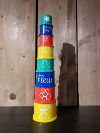 Blokkentoren Fisher Price gepersonaliseerd