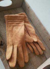 Handschoenen okergeel
