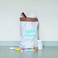 Kolor opbergzak paperbag bathroom
