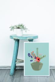 Studio Inktvis POSTER A4 Feline Hella Duijs