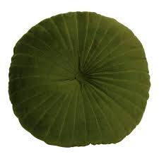 Imbarro noor kussen velvet groen
