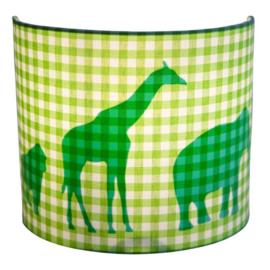 Little Dutch wandlamp dierenparade groen