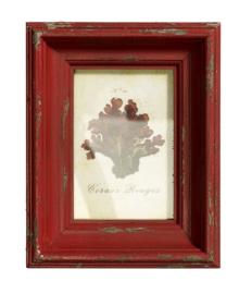 Nordal vintage fotolijstje oud rood
