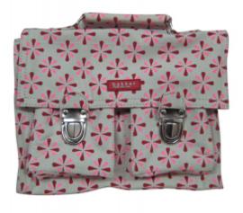 Bakker (school-)tas roze