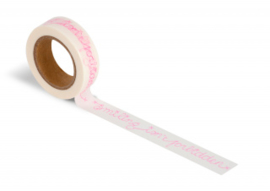 Wowgoods washi tape Smiling isn't forbidden