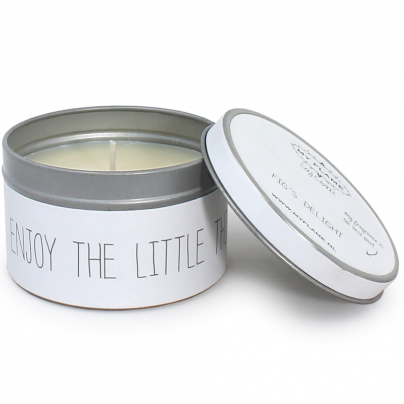 Myflame soja geurkaars - Enjoy the little things - Fig's delight