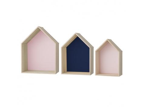 Bloomigville houten huisjes