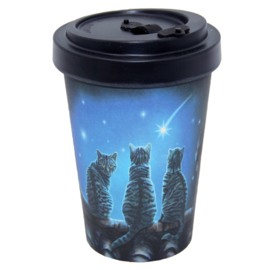 Travel mug - Wish upon a Star - Lisa Parker