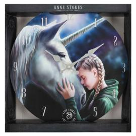 Wandklok - The Wish - Anne Stokes