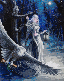 Diamond painting - Midnight Messenger - Anne Stokes
