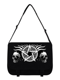 Messenger bag - Skull Pentagram