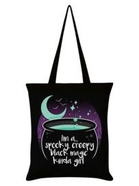 Tote bag - Spooky Creepy Black Magic Kinda Girl