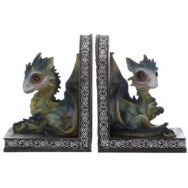 Boekensteunen - Baby Dragon - 2delig