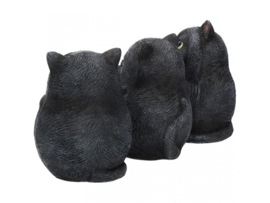 Three Wise Fat Cats 8,5cm