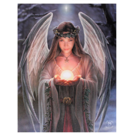 Canvas - Yule Angel - Anne Stokes