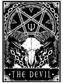 Mini poster - Deadly Tarot - The Devil