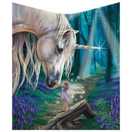 Fleece deken - Fairy Whispers - Lisa Parker