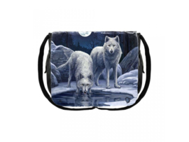 Messenger Bag - Warriors Of Winter - Lisa Parker