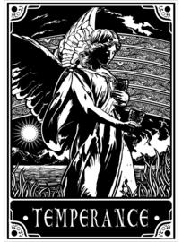 Mini poster - Deadly Tarot - Temperance